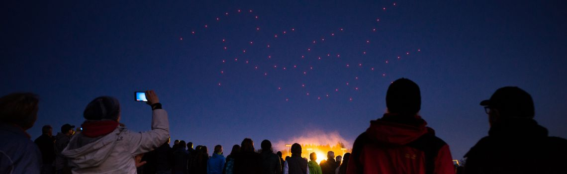 Spaxels Testflights for Rock in Rio 2017