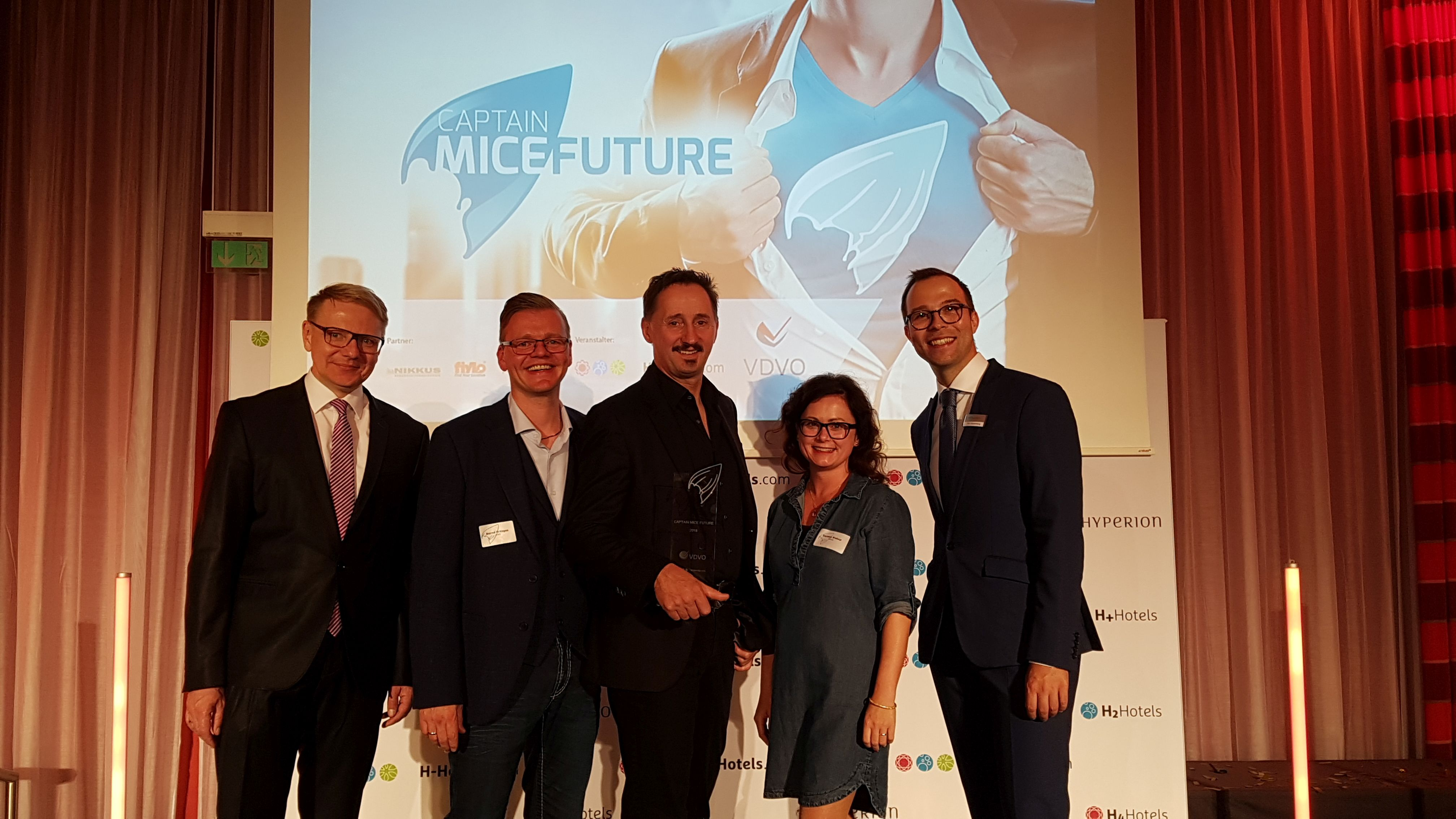 And the Start-up Oscar goes to… YUNYTY! VDVO kürt führendes Event-Buchungsportal zum Sieger beim Captain MICE Future 2018